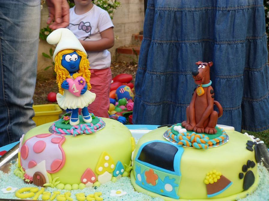 Compleanno maya world for Decorazioni torte 2d